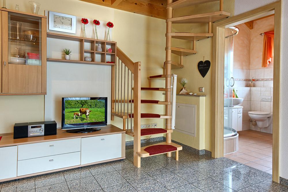 3-Zimmer-Ferienwohnung: Morgensonne :: 80 m²