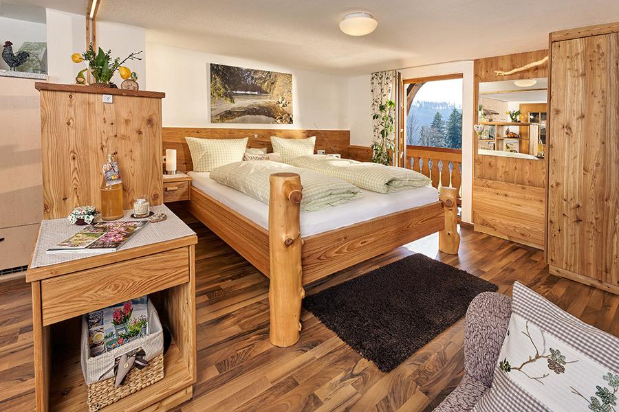 1-Zimmer-Ferienwohnung: Seewaldblick :: 40 m²