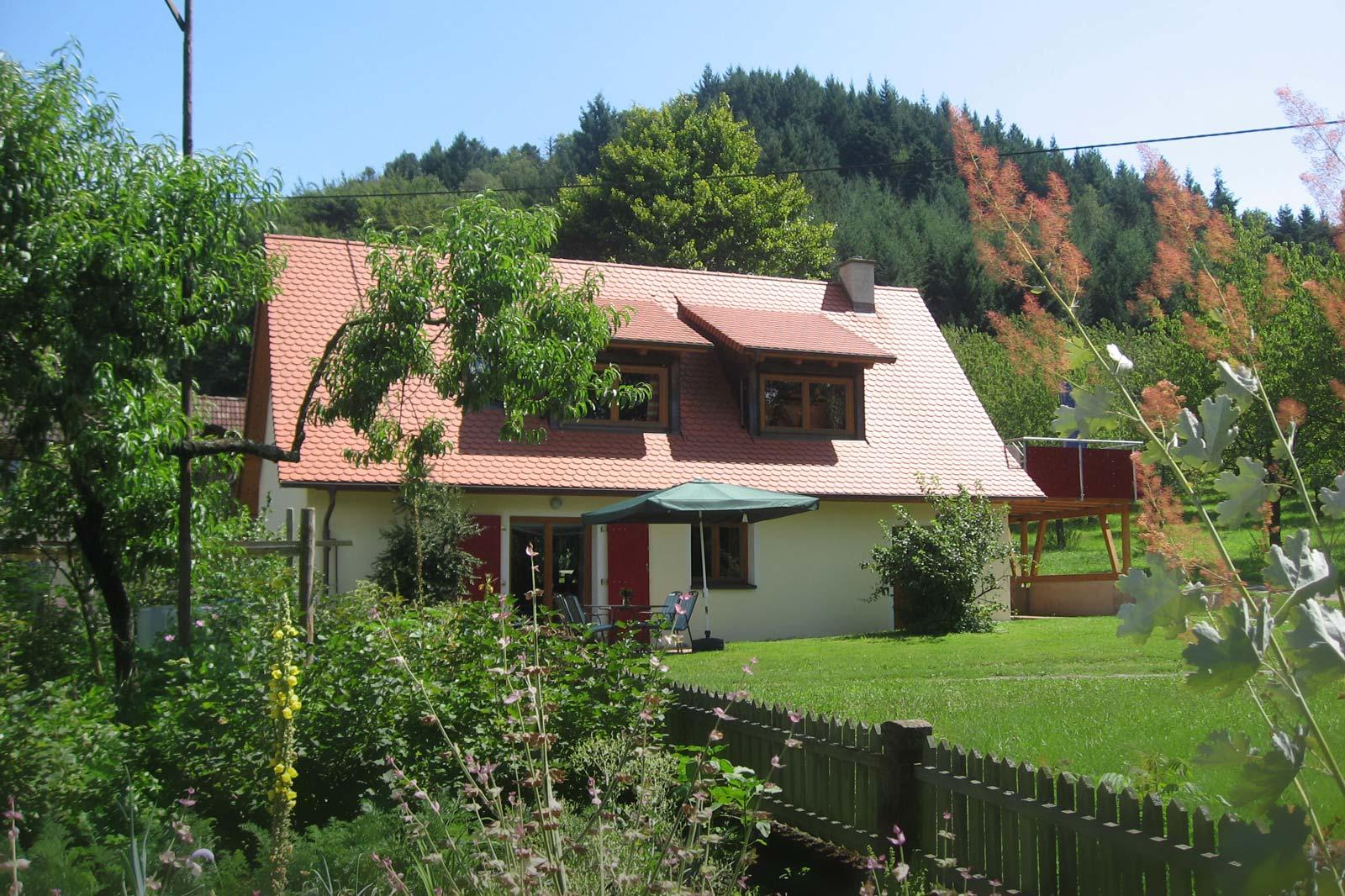 Ferienhaus am Kropbach | 284 m ü. NN
