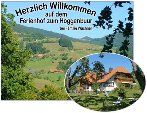 Ferienhof Wuchner zum Hoggenbuur   1.000 m ü. NN