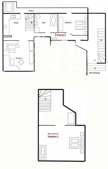 3-Zimmer-Ferienwohnung: Sommerwiese :: 75 m²