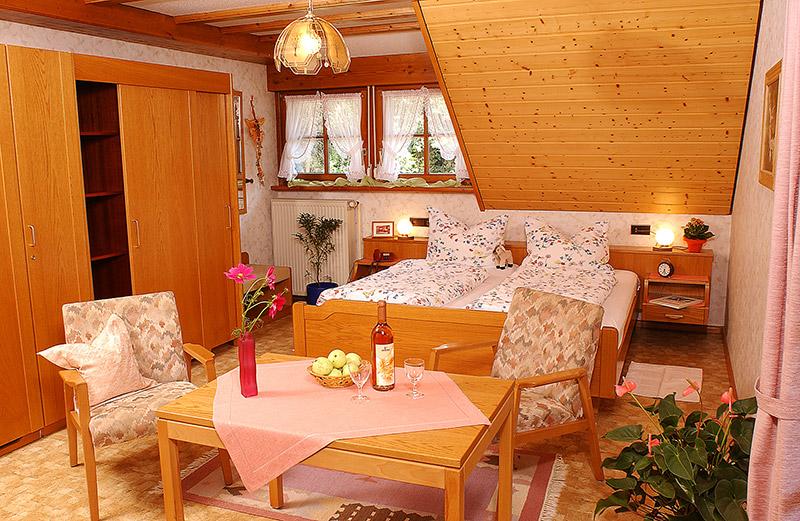 Doppelzimmer: DZ-Moosblick