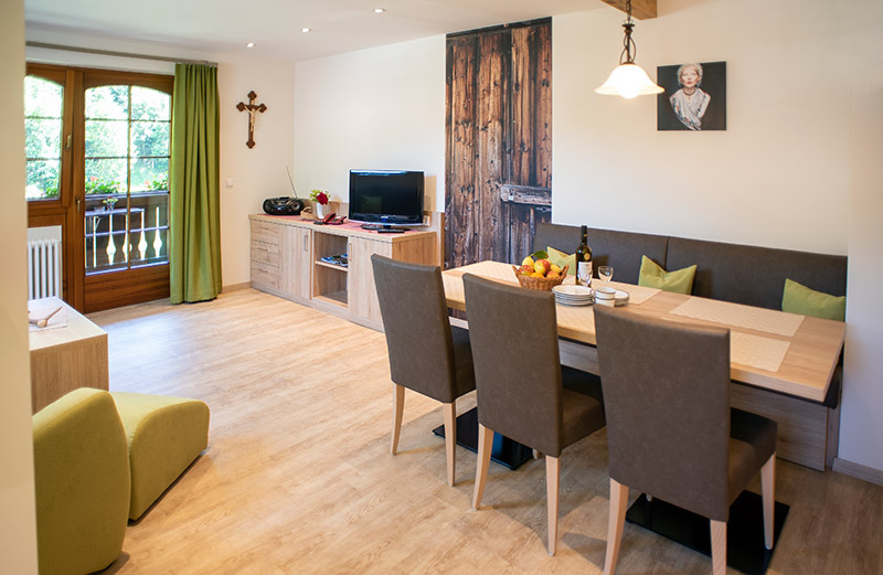 2-Zimmer-Ferienwohnung: Moosblick :: 50 m²