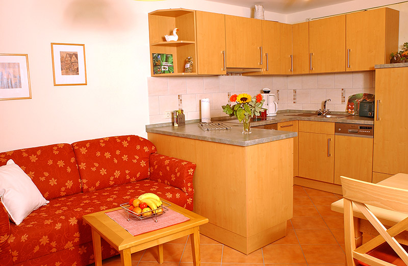 2-Zimmer-Ferienwohnung: Panoramablick :: 60 m²