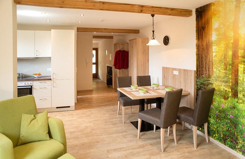 2-Zimmer-Ferienwohnung: Talblick :: 50 m²