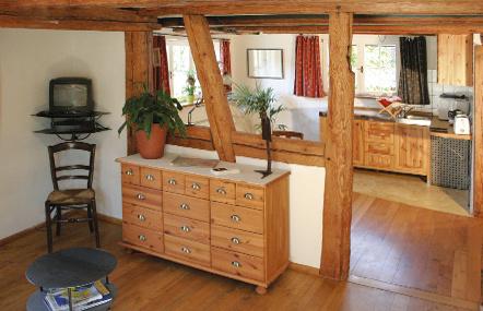 1-Zimmer-Ferienwohnung: Fewo1 :: 40 m²