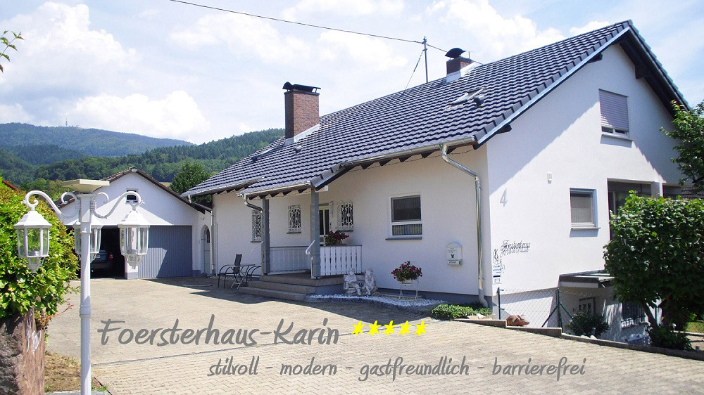 Försterhaus Karin   250 m ü. NN