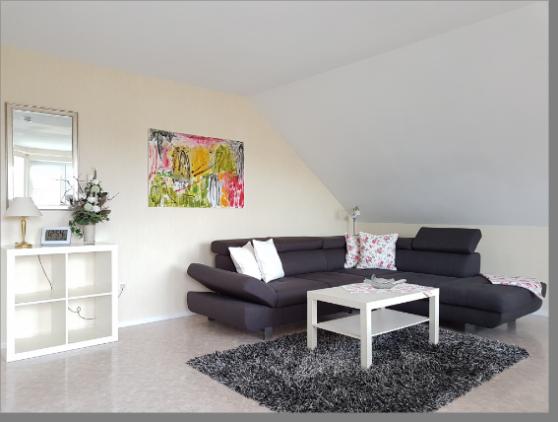 2-Zimmer-Ferienwohnung: Fewo-OG :: 65 m²