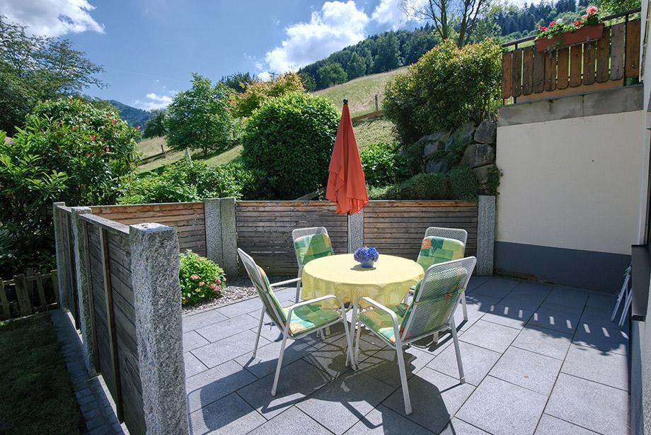2-Zimmer-Ferienwohnung: Belchenblick :: 40 m²