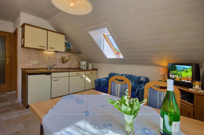 2-Zimmer-Ferienwohnung: Bergblick :: 35 m²
