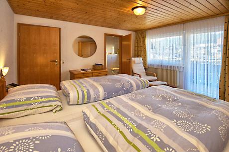 2-Zimmer-Ferienwohnung: Rehblick :: 47 m²