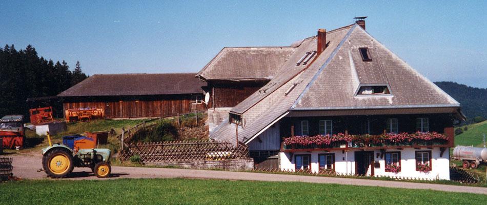 Haus Oberer Itzenwaldhof   1.100 m ü. NN
