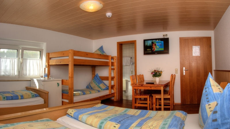 5-Bett-Zimmer: 5-Bett-Zimmer