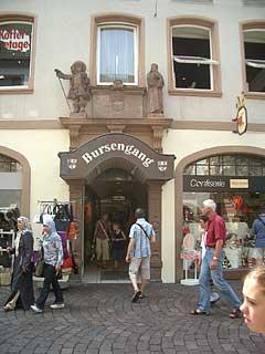 Freiburg Bursengang