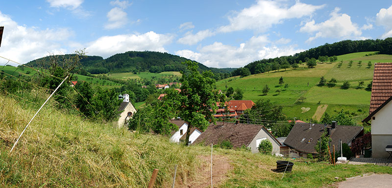 Ortsteil Freiamt-Brettental im Naturpark Südschwarzwald