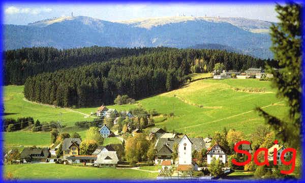Lenzkirch - Saig