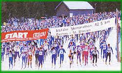 Langlaufmaraton in Bernau im Schwarzwald