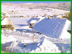 Winter in Bernau im Schwarzwald