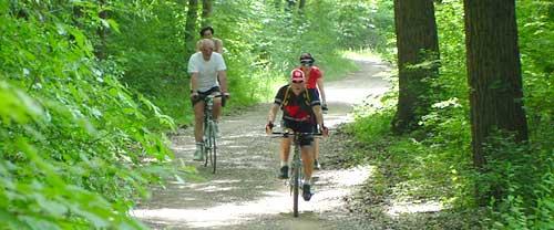 Radfahren am Kaiserstuhl