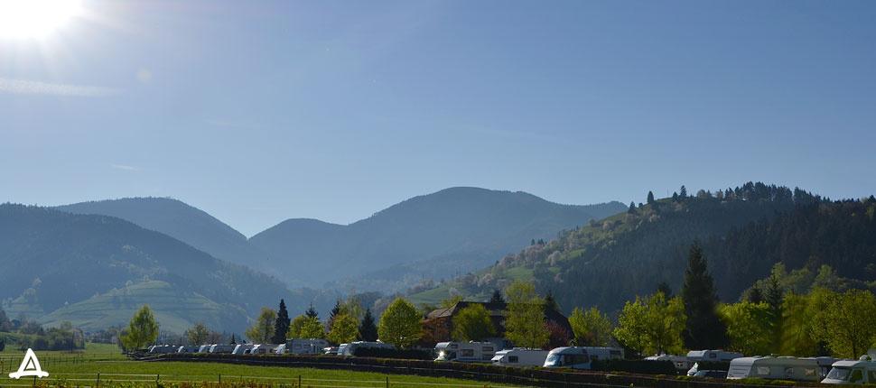 Feriencamping Münstertal | 450 m ü. NN