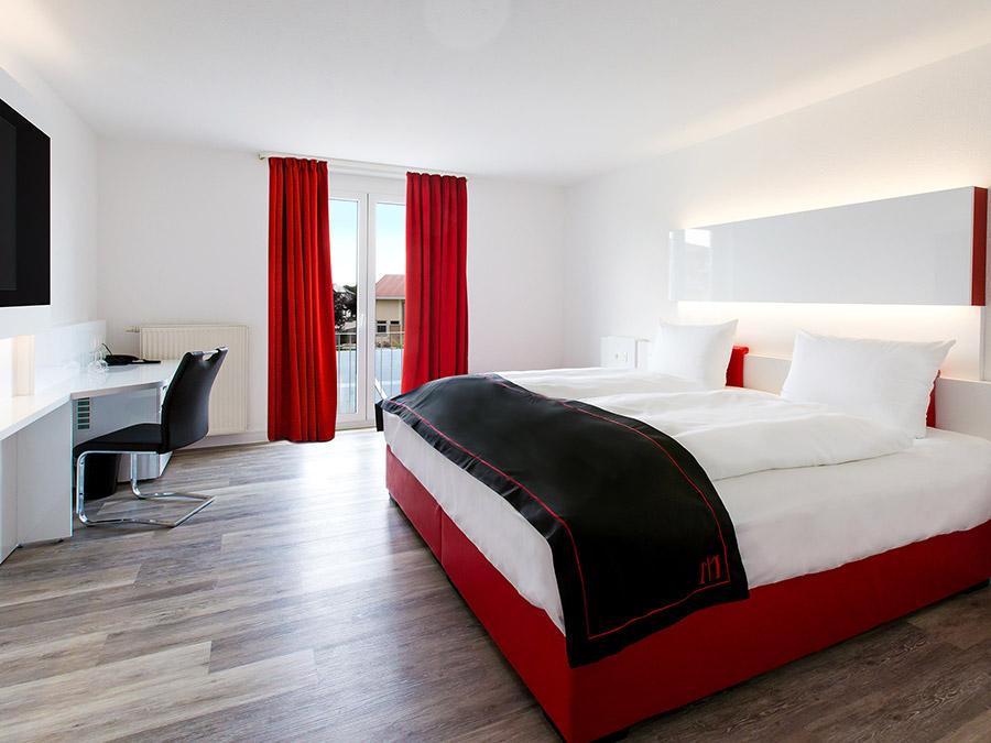 Doppelzimmer: Doppelzimmer :: 26 m²