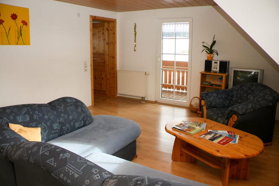 3-Zimmer-Ferienwohnung: Panoramablick :: 75 m²