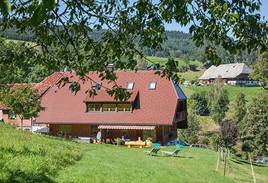 Ferienhaus Esche   900 m ü. NN