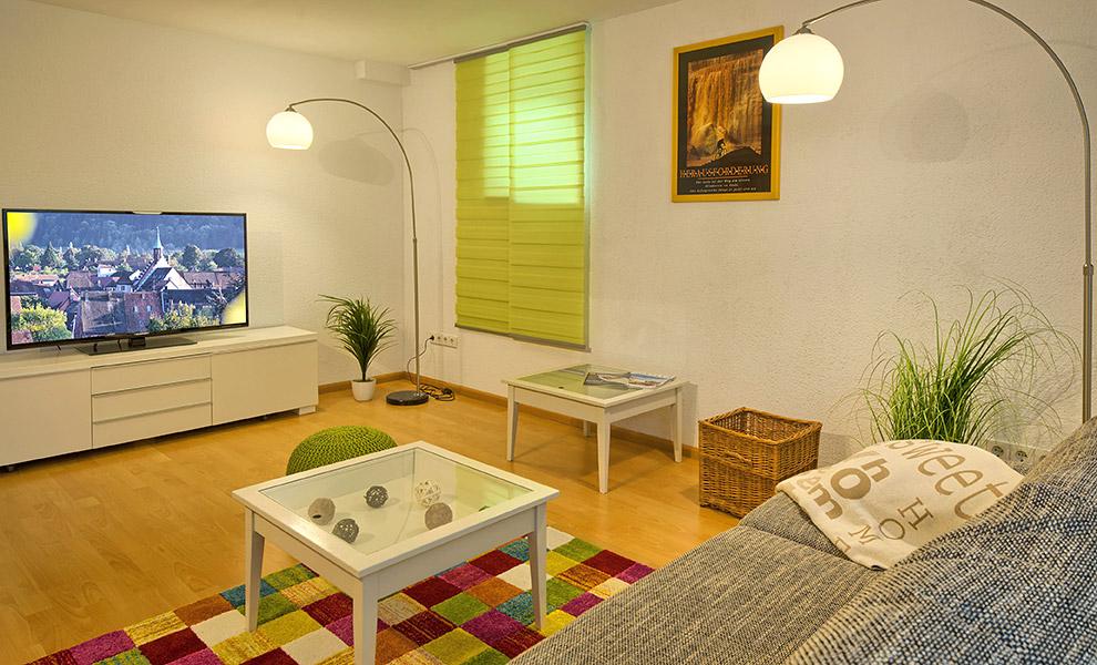 3-Zimmer-Ferienwohnung: Heitz :: 80 m²