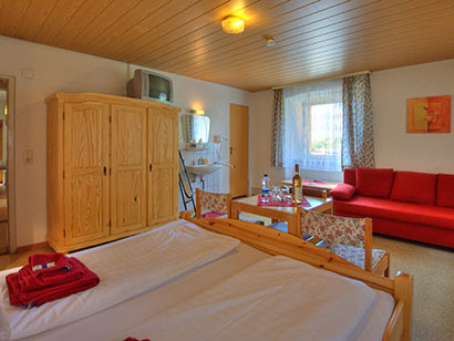 Doppelzimmer: DZ :: 12 m²
