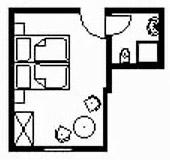 Doppelzimmer: DZ-Mittagsruh :: 18 m²