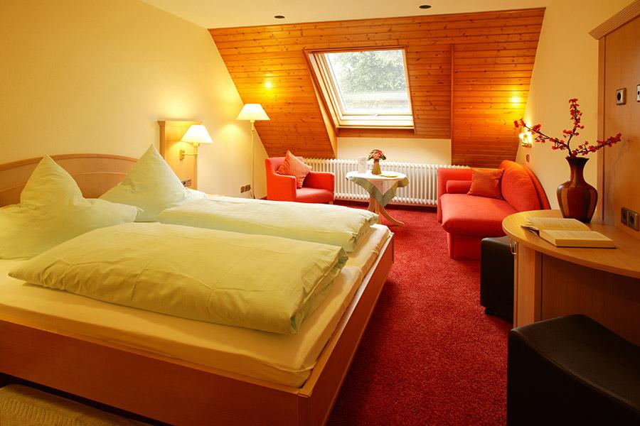 Doppelzimmer: DZ-Sonnenwinkel :: 22 m²