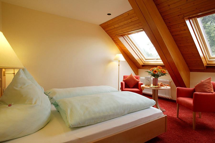 Doppelzimmer: DZ-Sternenblick :: 20 m²