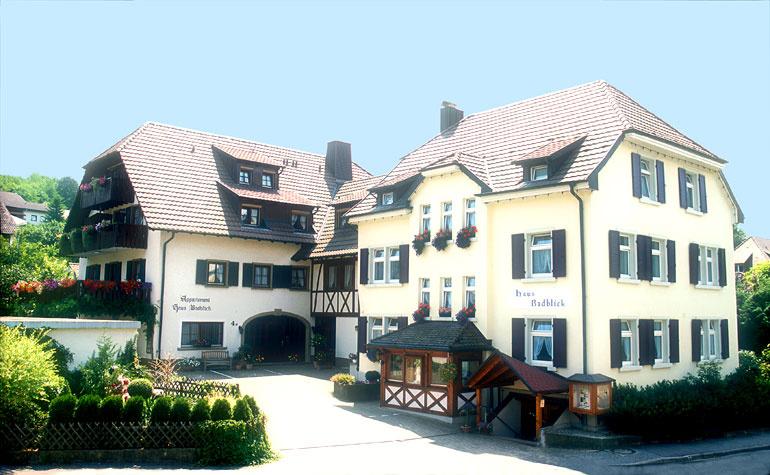 Appart-Hotel Badblick   400 m ü. NN
