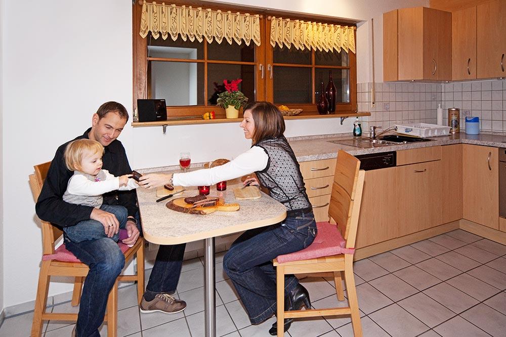 2-Zimmer-Ferienwohnung: Jakobsbauernhof :: 80 m²