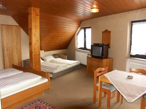 4-Bett-Zimmer: 4-Bett