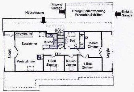 4-Zimmer-Ferienwohnung: FW :: 84 m²