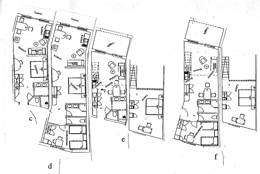 2-Zimmer-Ferienwohnung: Fewo-E :: 60 m²