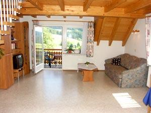 2-Zimmer-Ferienwohnung: Berghofblick