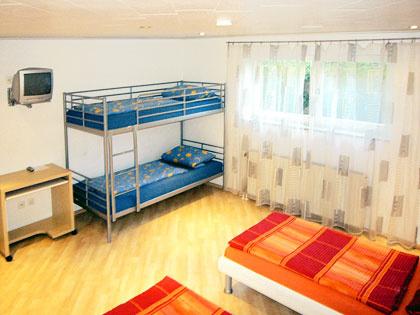 4-Bett-Zimmer: QUARTETT :: 54 m²