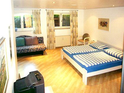 5-Bett-Zimmer: QUINTETT :: 51 m²