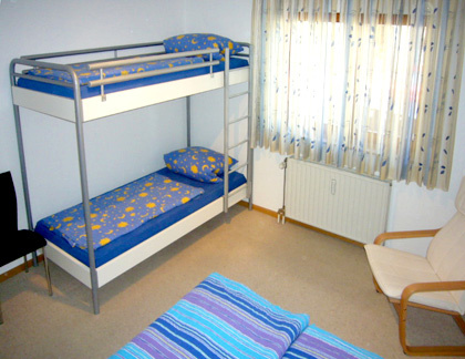 6-Bett-Zimmer: SEXTETT :: 62 m²