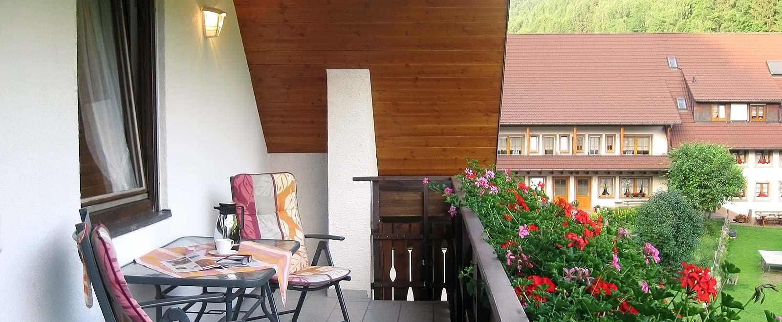 2-Zimmer-Ferienwohnung: Blumenwiese :: 42 m²