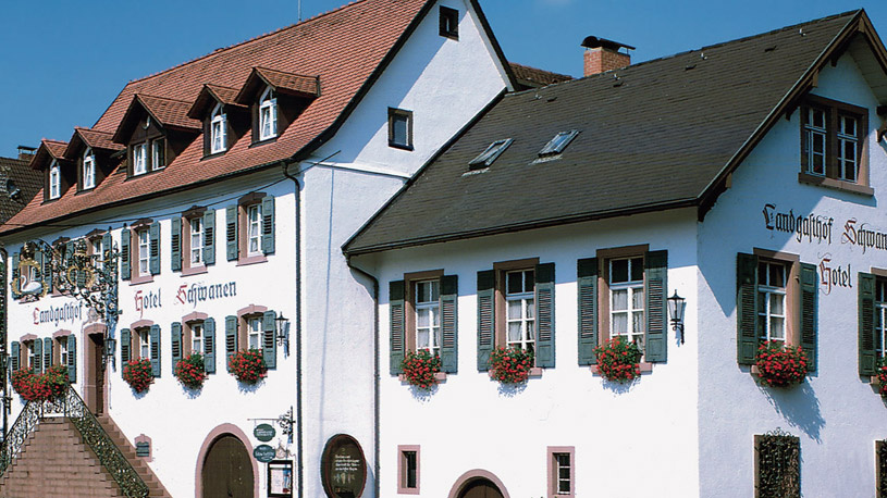 Hotel-Landgasthof Schwanen   257 m ü. NN