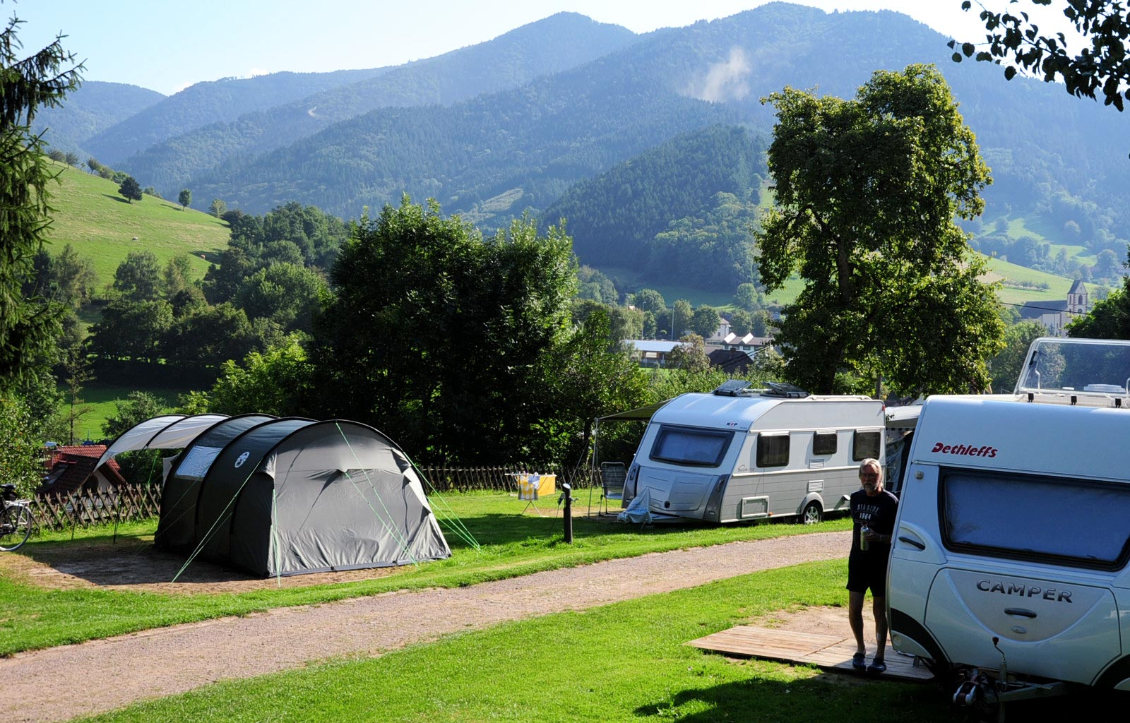 Camping Schwarzwaldhorn | 300-1.241 m ü. NN