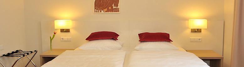 Doppelzimmer: DZ :: 22 m²