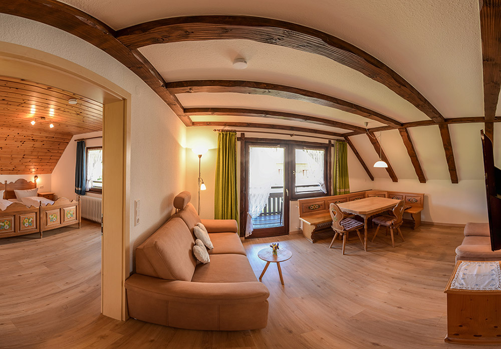 3-Zimmer-Ferienwohnung: FW 3 :: 50 m²