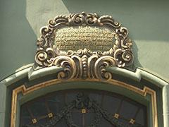 Freiburg Türinschrift