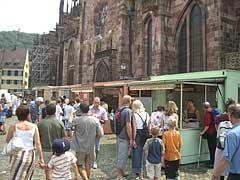 Freiburg Markt am Münster