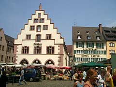 Freiburg Münsterplatz