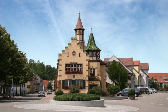 Heitersheim altes Rathaus